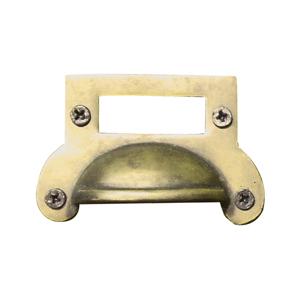 真鍮ラベルハンドルcucr0033画像